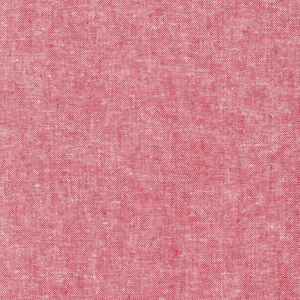 Robert Kaufman - Essex Yarn Dyed Linen/Cotton Blend - Red