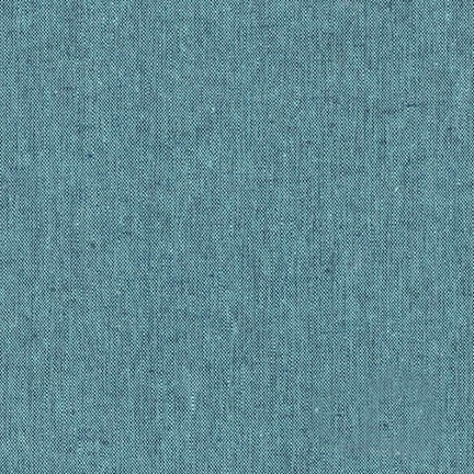 Robert Kaufman - Essex Yarn Dyed Linen/Cotton Blend - Malibu