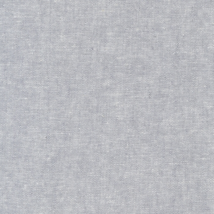 Robert Kaufman - Essex Yarn Dyed Linen/Cotton Blend - Steel