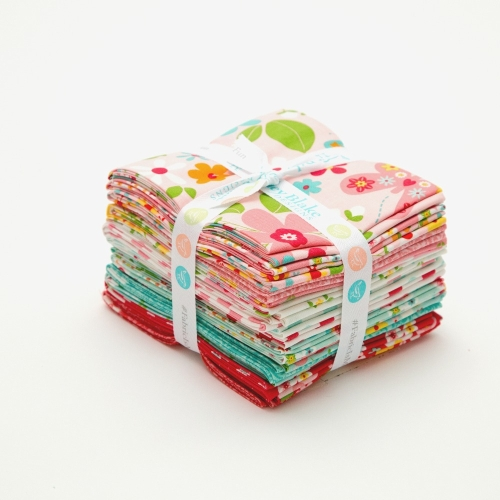 Riley Blake Designs - Garden Girl - Fat Quarter Bundle of 18 Pieces