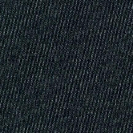 Robert Kaufman - Black Denim 8 OZ - Extra Wide 142cm