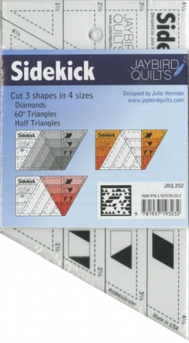 Jaybird Quilts Sidekick Acrylic Ruler