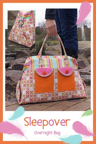 Melly and Me - Sleepover Bag Pattern