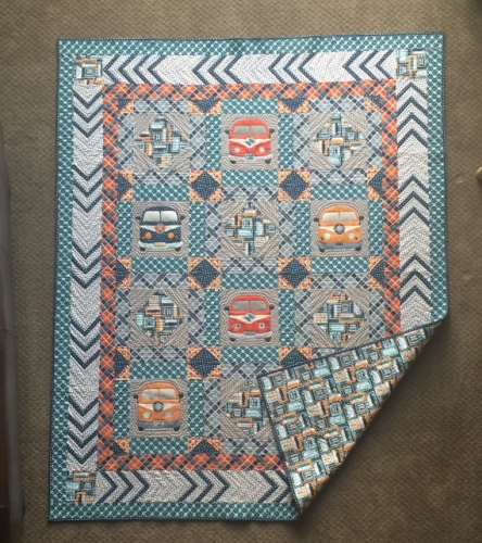 Sugar Sisters Design - Dream On Man Quilt Pattern