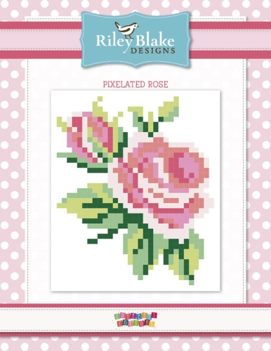 Riley Blake Designs - Pixelated Rose Quilt Kit - 66