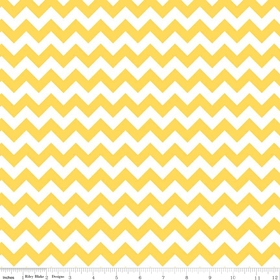 Riley Blake - Small Chevron in Yellow
