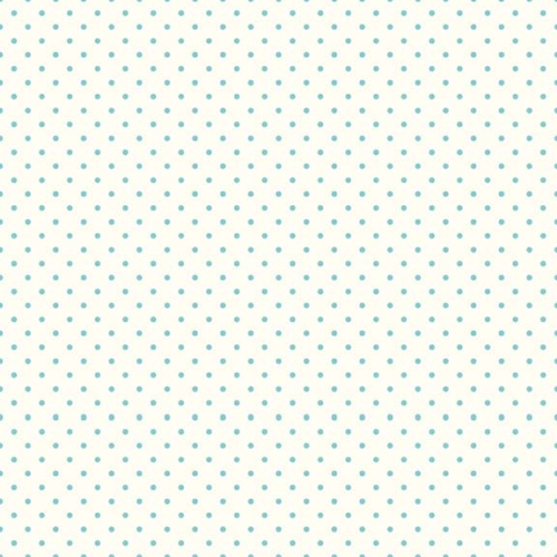 Riley Blake Designs - Le Creme Swiss Dots in Aqua