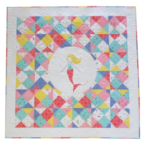 Mermaid Waters Quilt Pattern by Cinderberry Stitches