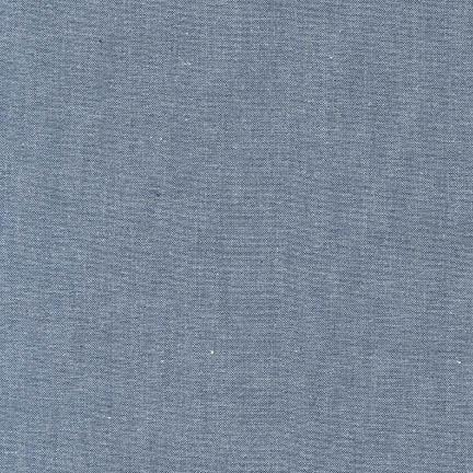 Robert Kaufman - Denim Interweave Chambray 4.9 OZ