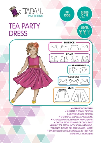 Tadah Patterns - Tea Party Dress Pattern