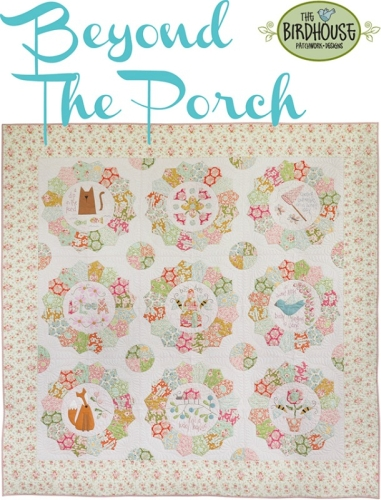 Beyond the Porch Quilt Kit by Natalie Bird featuring The Bumble Bee Collection by Tilda