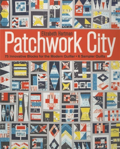 Patchwork City by Elizabeth Hartman Softcover Book