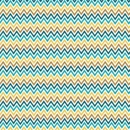 Riley Blake Designs - Inde Chic - Zig Zag Chevron in Multi