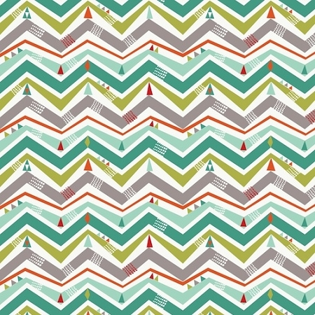 Dashwood Studio - Wildwood Chevron Trees