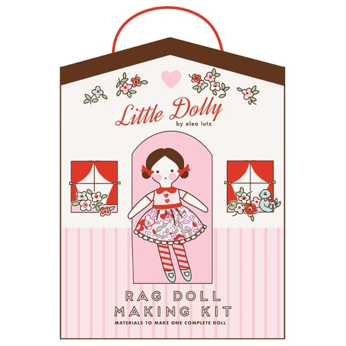 Little Dolly - Rag Doll Making Fabric Kit by Elea Lutz