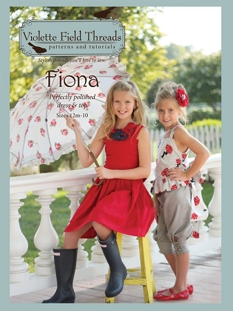 Fiona - Violette Field Threads Girls Dress & Top Pattern