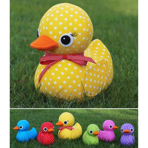 Melly and Me - Five Little Ducks Softie Pattern