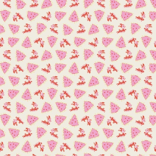 Penny Rose Fabrics - Little Joys - My Deerest in Pink