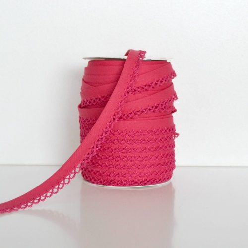 Picot Edge Bias Binding Trim - Watermelon