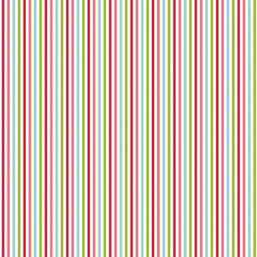 Riley Blake Designs - Merry Matryoshka Stripe in Multi
