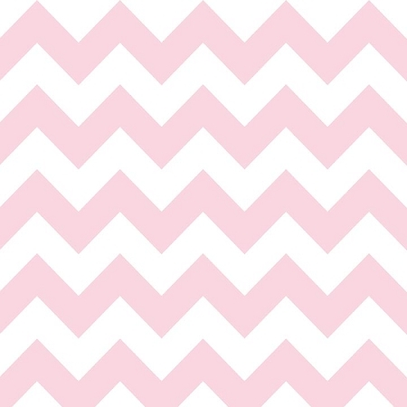 Riley Blake - Medium Chevron in Baby Pink