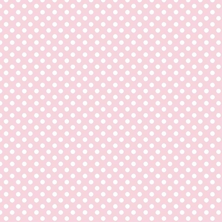 Riley Blake Designs - Small Dots / Spots in Baby Pink