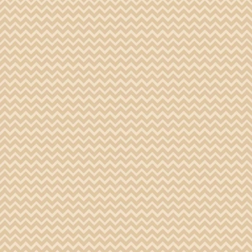 Riley Blake Designs - Camp A Lot - Chevron in Cream *** REMNANT 3.5 METRE PIECE ***