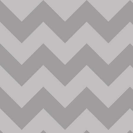 Riley Blake - Large Chevron in Grey / Gray Tone on Tone