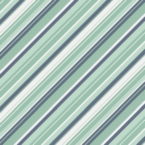 Riley Blake Designs - A Beautiful Thing - Stripe in Blue *** REMNANT 3 METRE PIECE ***