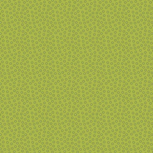 Riley Blake Designs - Happy Flappers - Petal in Green*** REMNANT 2.58 METRE PIECE ***