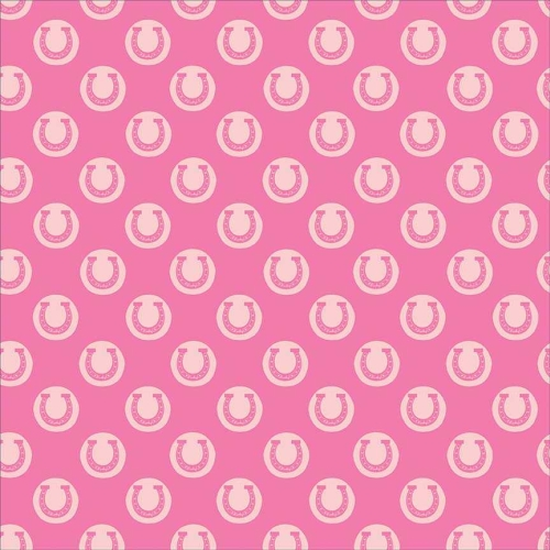 Riley Blake Designs - Derby Style - Derby Luck in Pink