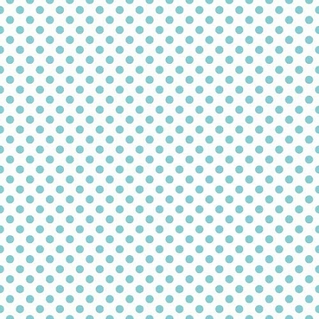 Riley Blake Designs - Small Dots / Spots in Aqua