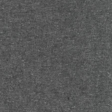 Robert Kaufman - Essex Yarn Dyed Linen/Cotton Blend - Charcoal