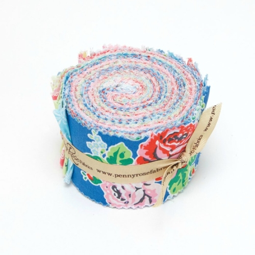 Penny Rose Fabrics - Strawberry Biscuit - 2.5 Inch Rolie Polie Bundle 21 fabrics
