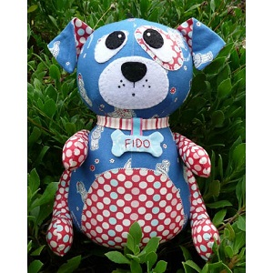Melly and Me - Fido Dog Softie Pattern