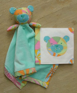 Melly and Me - Bambino Blankie Softie & Book Pattern