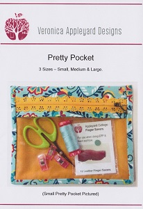 Veronica Appleyard Designs - Pretty Pockets - 3 sizes