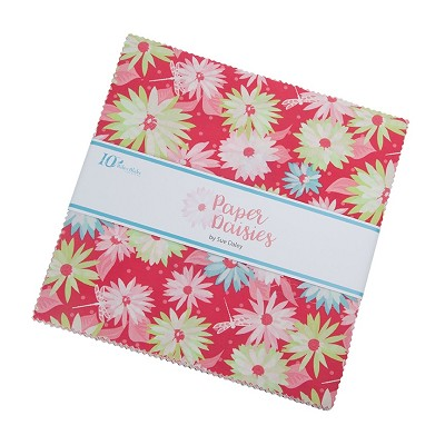 Riley Blake Designs Paper Daisies 10 Inch Stacker 42 Pieces