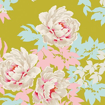 Tilda - Sunkiss - Peony in Lime