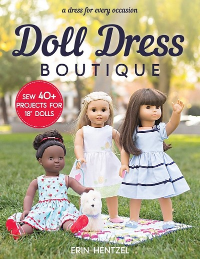 Doll Dress Boutique Pattern Book by Erin Henzel