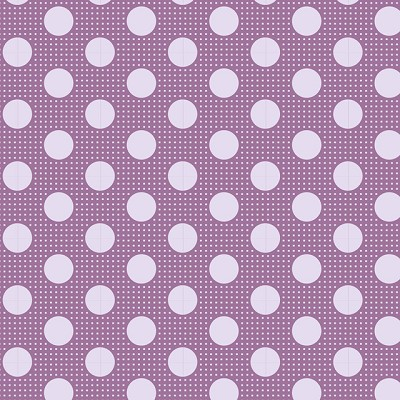Tilda Basics - Medium Dots in Lilac