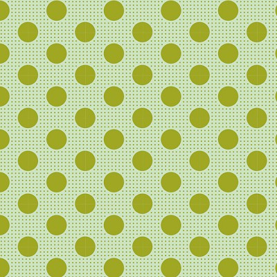 Tilda Basics - Medium Dots in Green