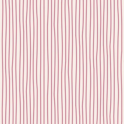 Tilda Classic Basics - Pen Stripe in Pink