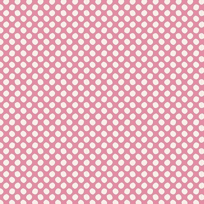 Tilda Classic Basics - Paint Dots in Pink