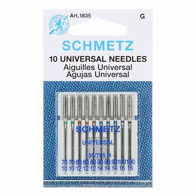 Schmetz Universal Machine Needle Set of 10