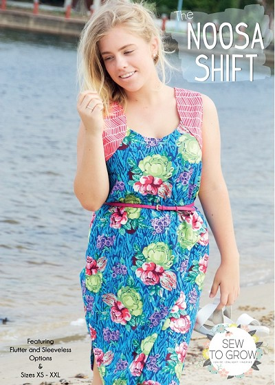 Sew to Grow Patterns - The Noosa Shift