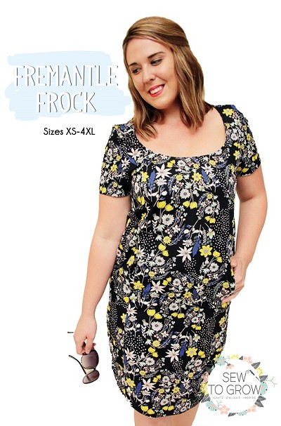 Sew to Grow Patterns - Fremantle Frock
