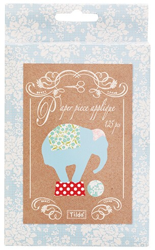 Tilda - Circus - English Paper Piece Applique Papers - Elephants