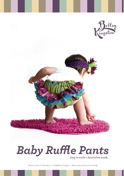 Betty Kingston - Baby Ruffle Pants Pattern