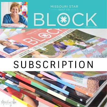 Missouri Star Quilt Co - BLOCK Book 2018 Subscription